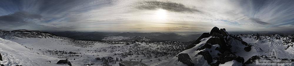 Шерегеш - панорама