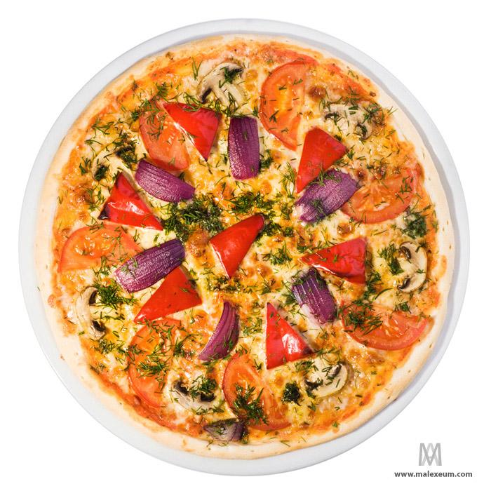 Фуд фотосессия - вегетарианская пицца