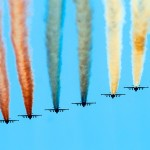 Air force on military parade.