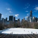 Центральный парк Нью-Йорка (Central Park) - каток