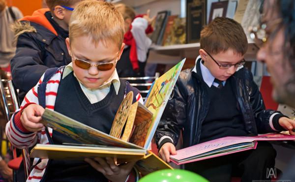 книжки для слепых детей