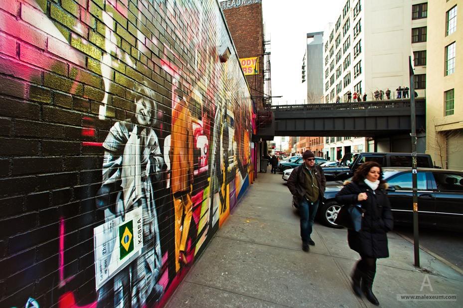 Нью Йорк и Нью йоркцы в отражениях