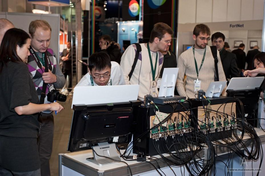 Профессиональный фотограф на выставку в Москве - Форум Технологии безопасности 2012.