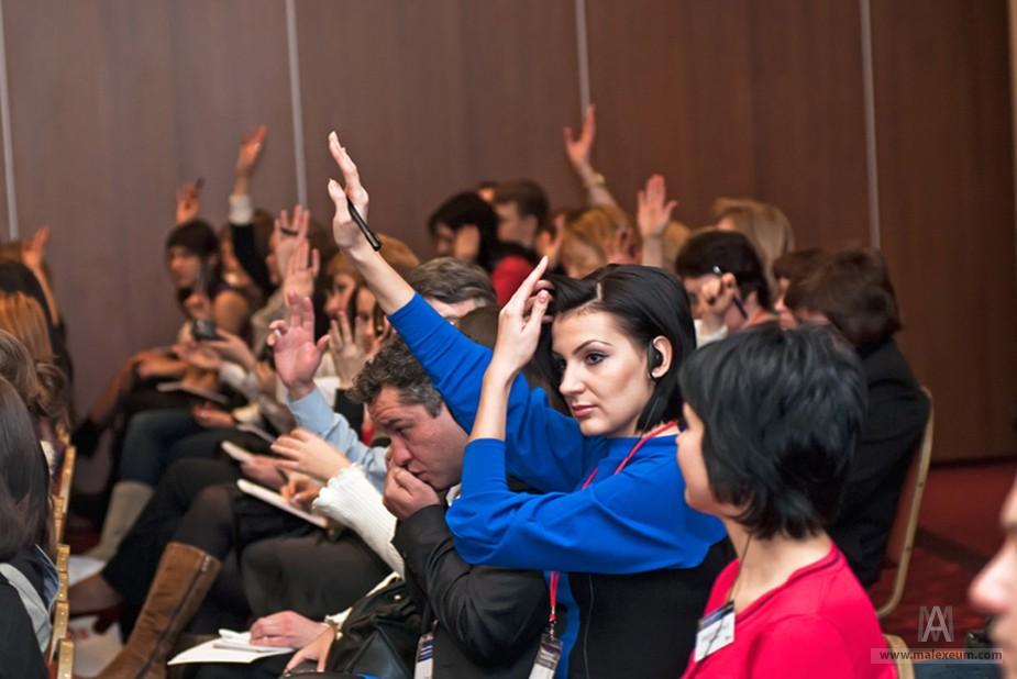 Репортажная фотосъемка мероприятий - HR бренд года 2011.