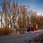 Разлив Оки 2013 в Луховицах