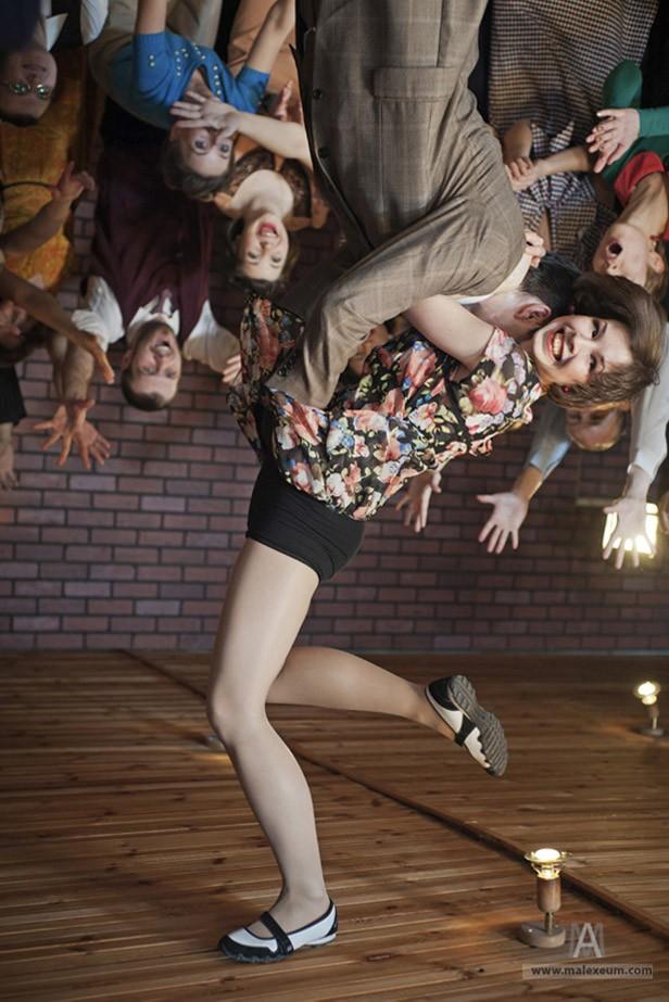 Фотосессия танцоров
