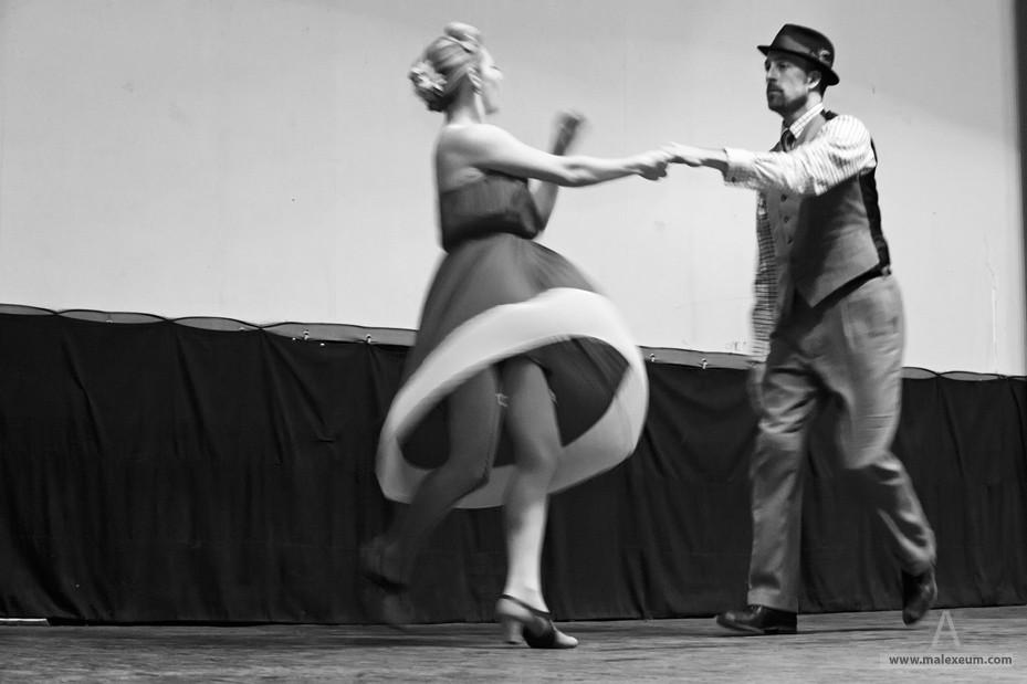 Съемка танцев