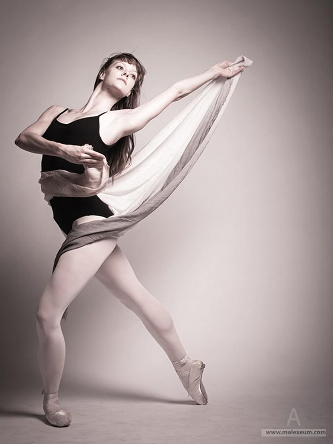 Фотосессии танцоров - балерина