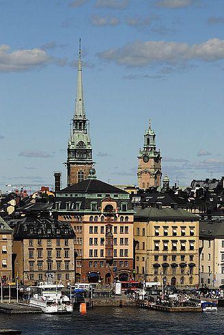 Швеция, Стокгольм, фото
