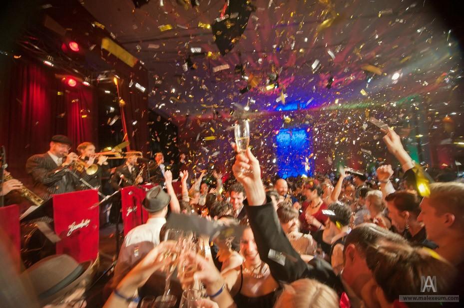 Новый год в Стокгольме 2011