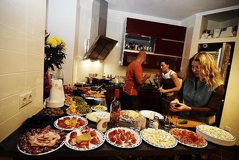 Домашняя мексиканская вечеринка
