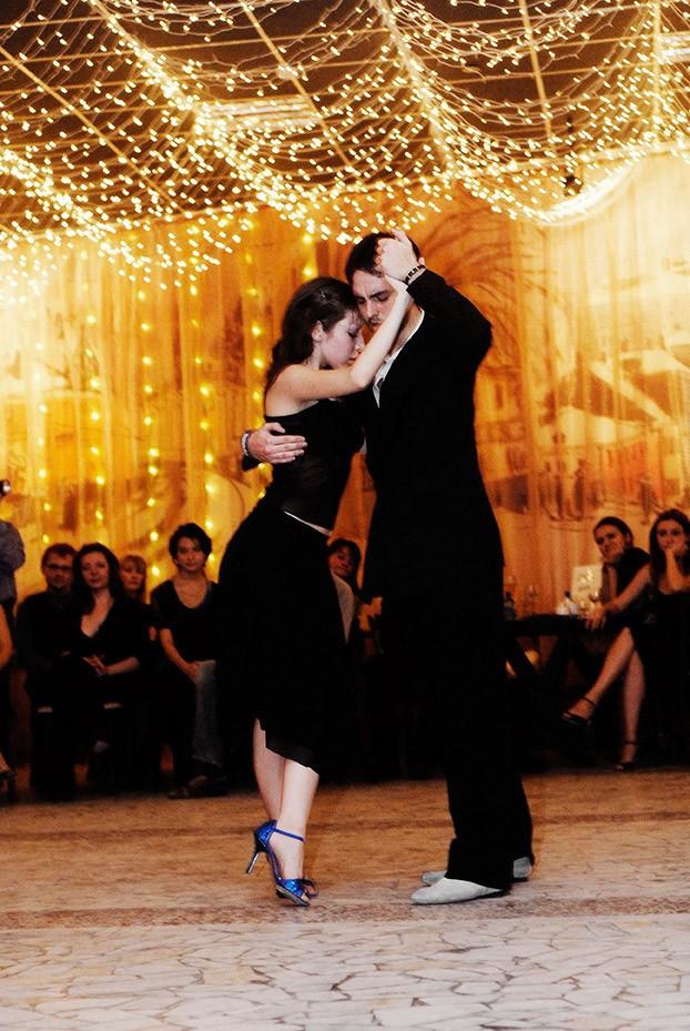 Танцевальные фотографии танго