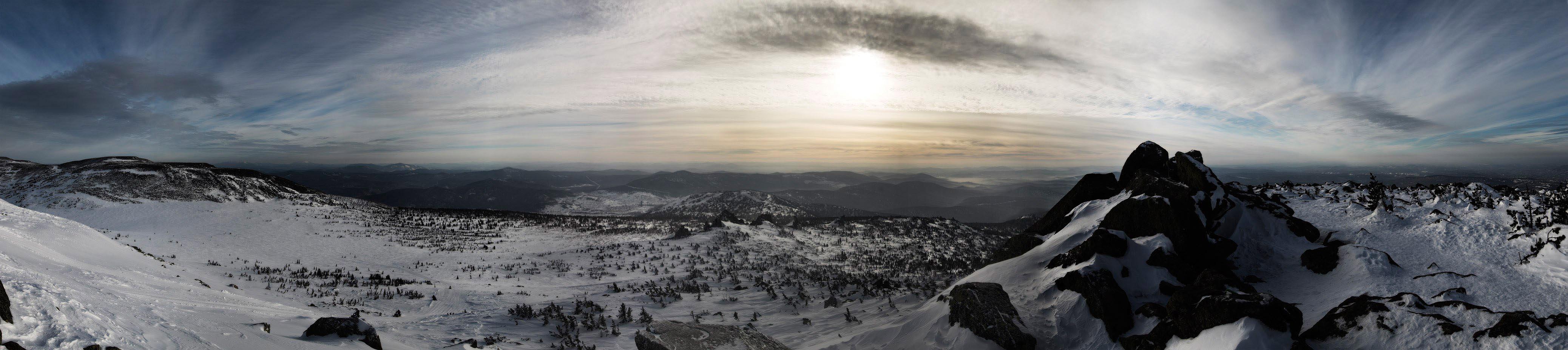 Панорамы Горная Шория
