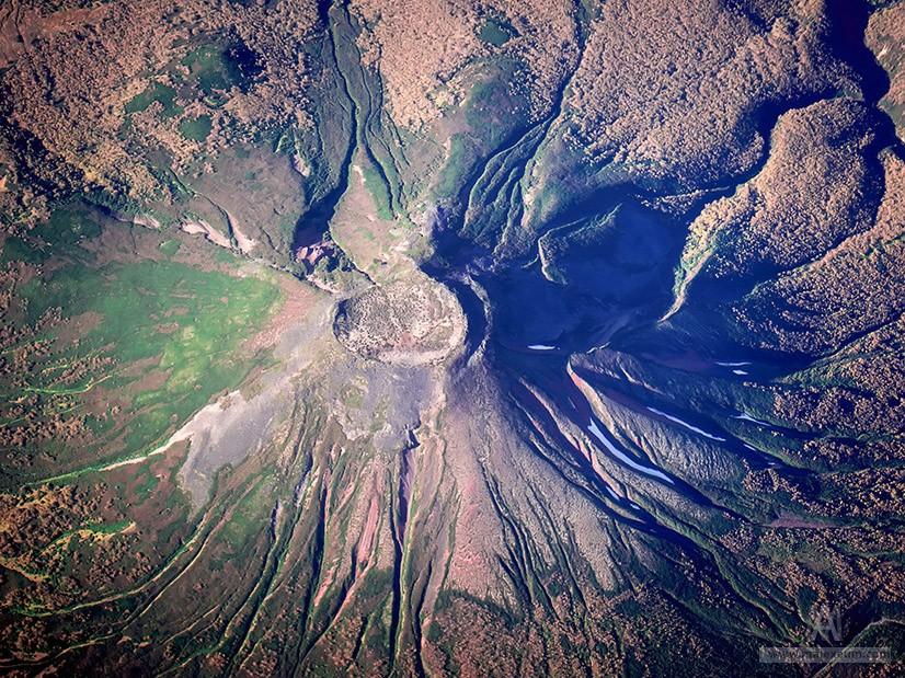 Потухшие вулканы Камчатки