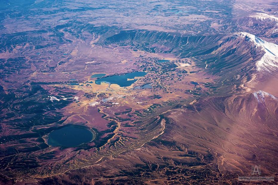 Вулкан Узон на Камчатке