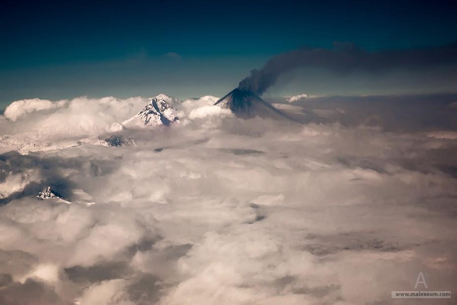 Действующие вулканы Камчатки - Ключевская сопка