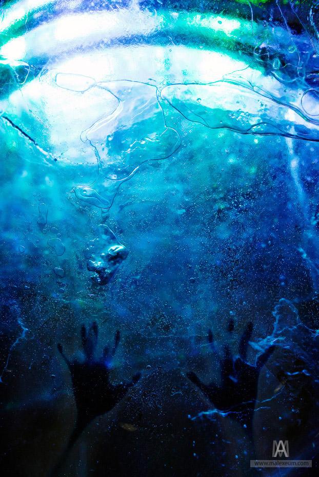 концепт, подводная фотосъемка, интересные фото, концептуальная фотография, лед, фотофорум-2010