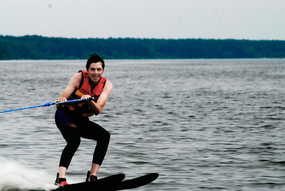водные лыжи, фото, 2010, экстрим, друзья