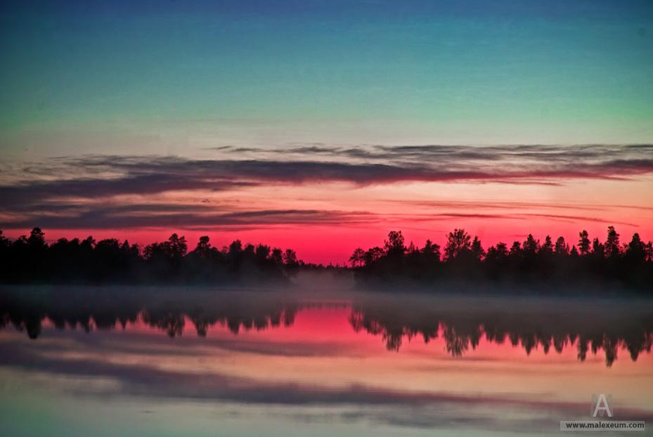 Карелия, карельские озера