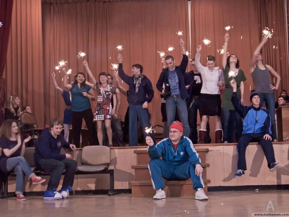 Репортаж из Московского рождественского танцевального лагеря 2011