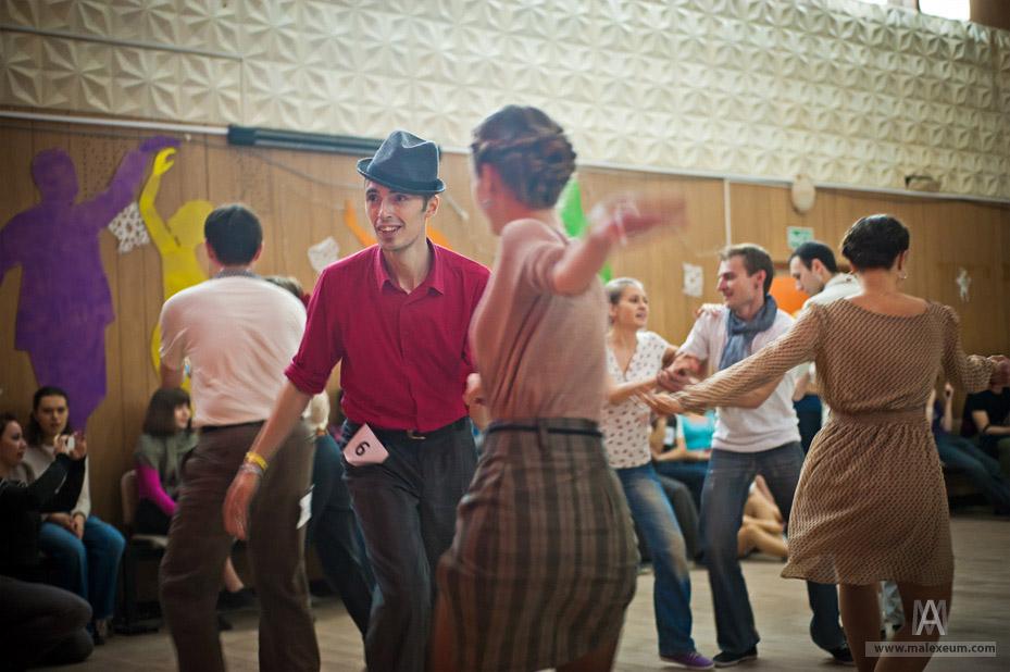Московский Рождественский танцевальный лагерь 2012