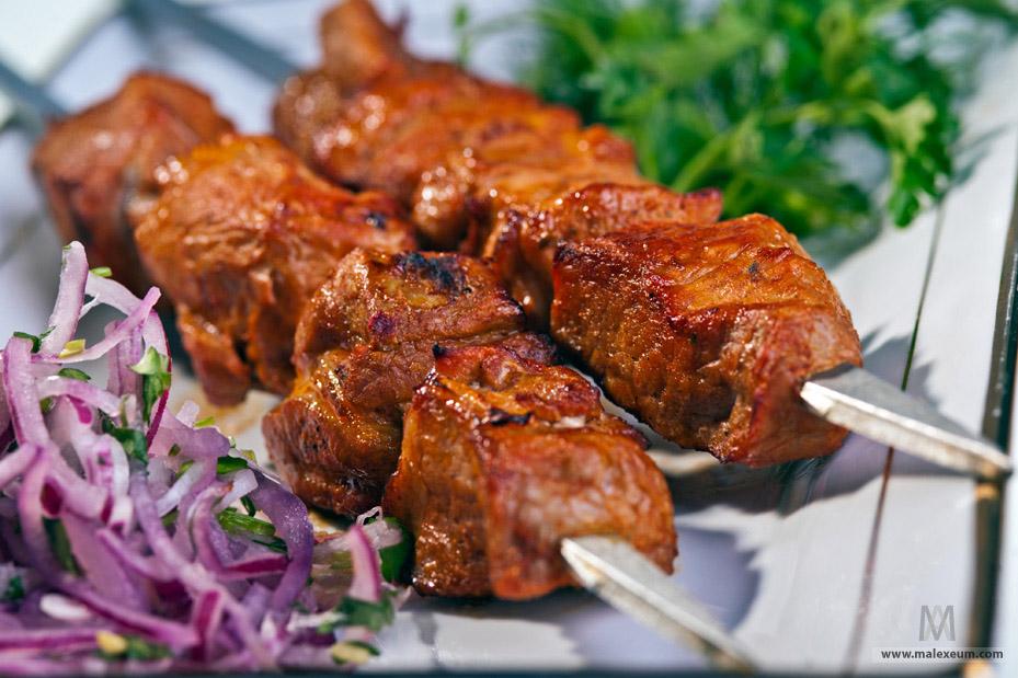 Профессиональная фотосъемка мяса и блюд