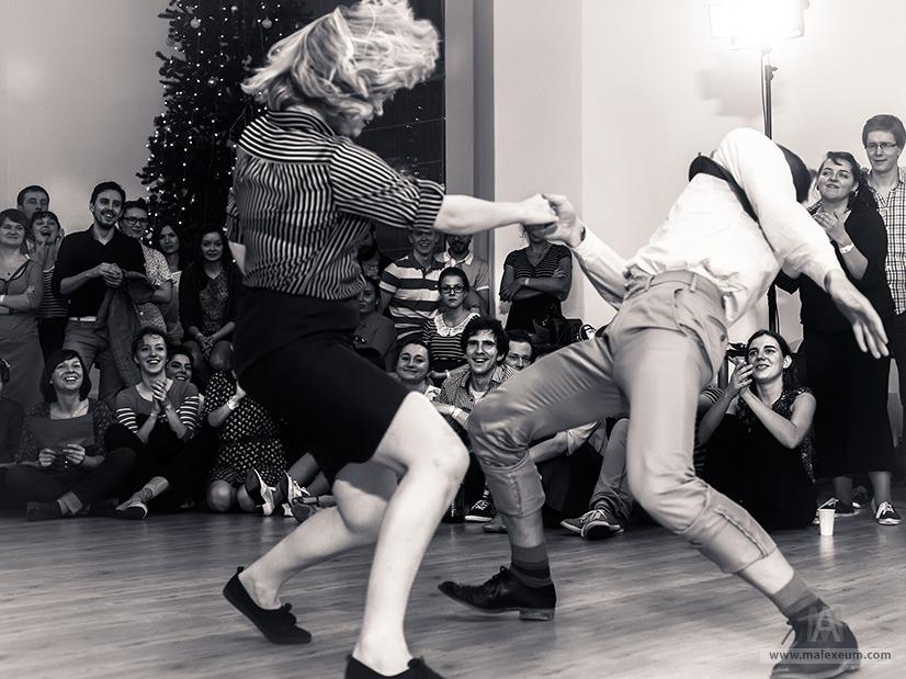 Рождественский танцевальный лагерь свинга 2014.