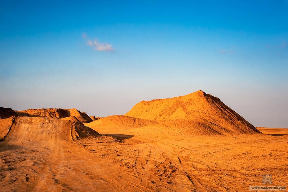 Тунис. Дюны Сахары
