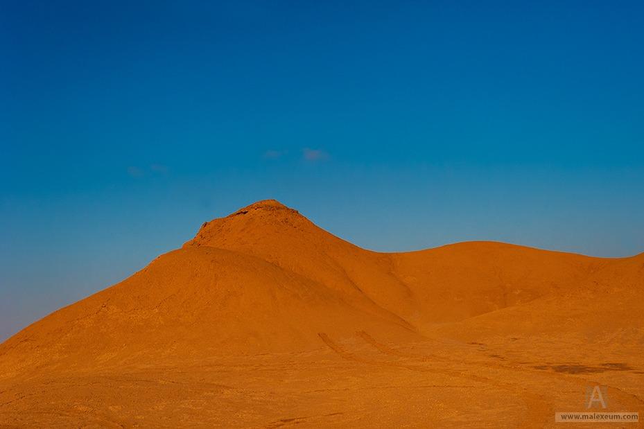 Тунис. Дюны в пусныне Сахара.