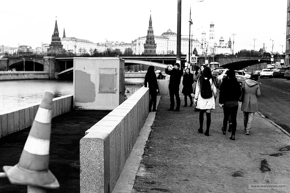 Кремль, Берсеневская набережная, Москва