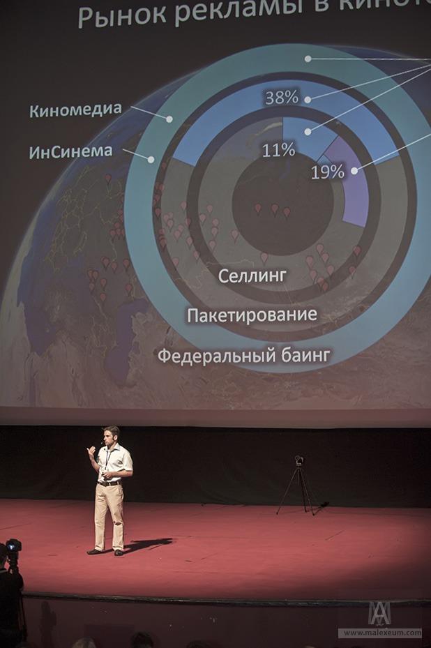 Презентация Синема 360 в кинотеатре