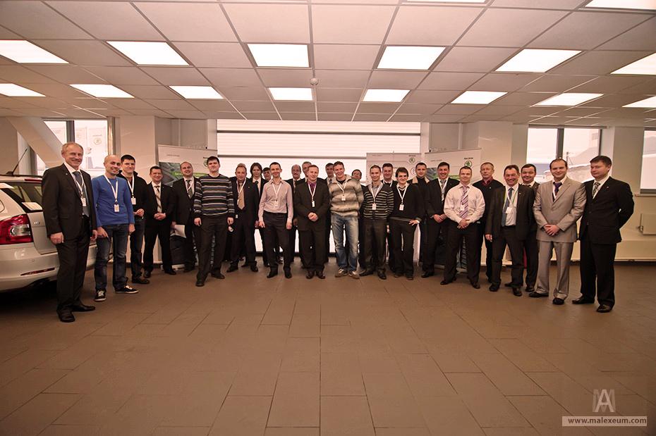 Обучающее мероприятие  Skoda service challenge