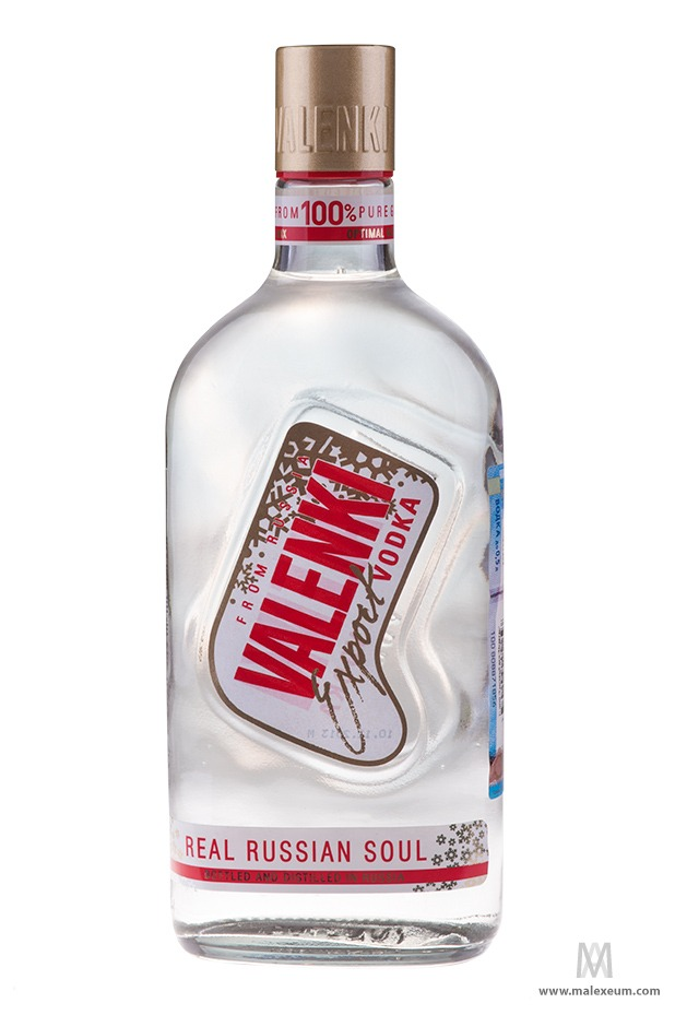 Рекламная фотосъемка водки