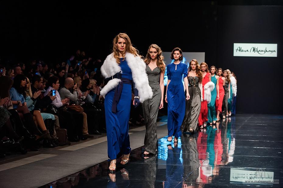 неделя моды в москве осень 2014 фото