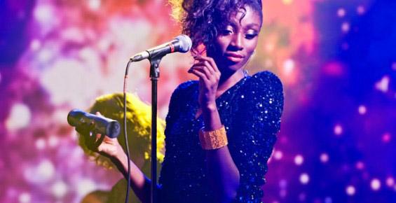 Певица, концертная съемка - сайт фотографа