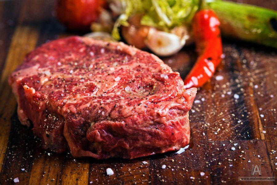 Мясо - фуд фотограф