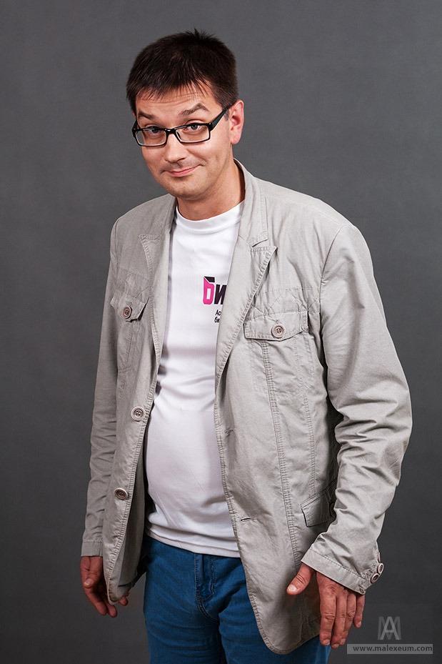 Мужской деловой портрет - выездной фотограф