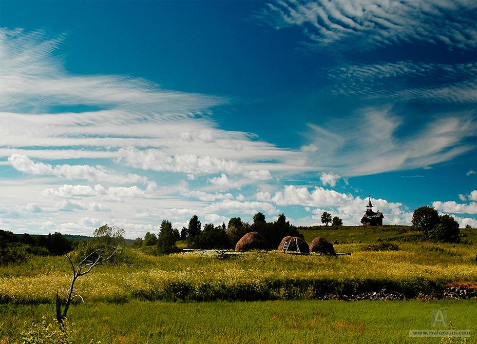 Фотографии деревень России - Кижи