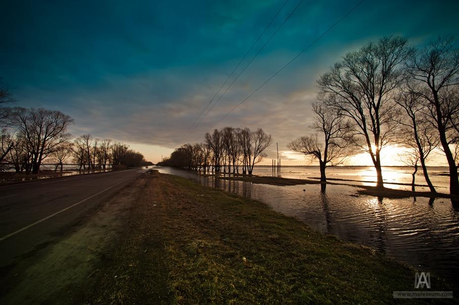 Фотографии половодья. Разлив Оки 2013. Photo by Alexey Makushin