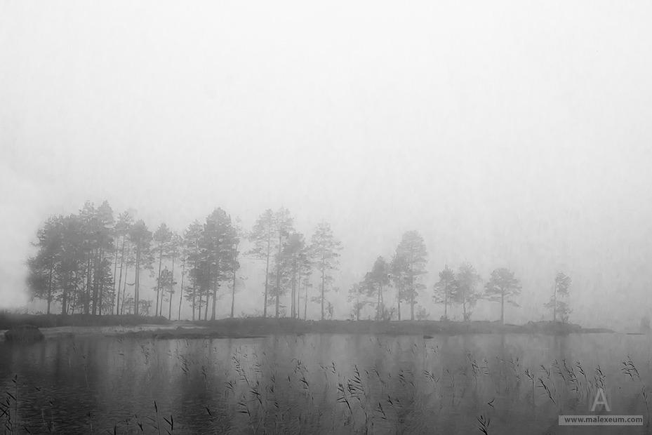 Туман - российская природа