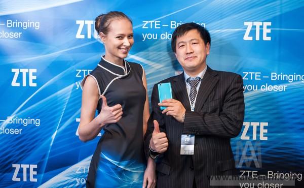 Пресс конференция ZTE
