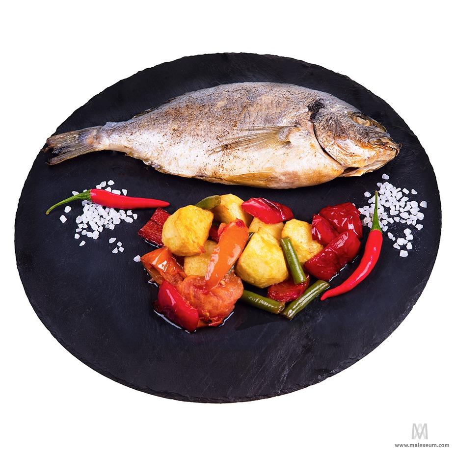 Фуд фотосъемка блюд - рыба