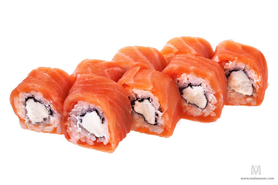 Суши и роллы фотографии