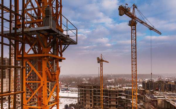 Профессиональная съемка строительных объектов