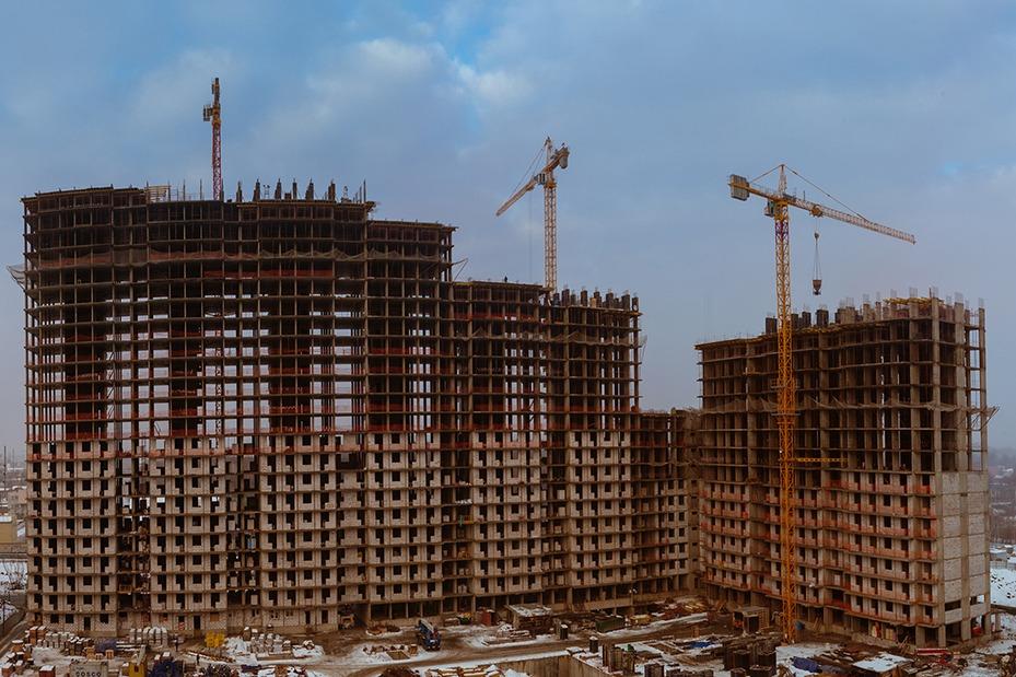 фотосъемка строительных объектов