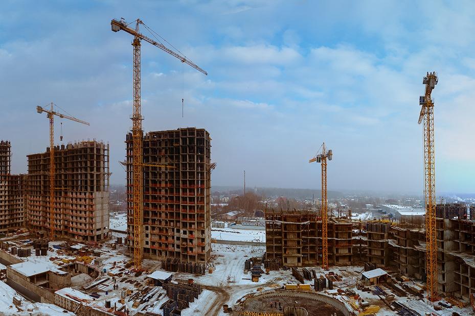 Профессиональная фотосъемка строительных объектов Москвы