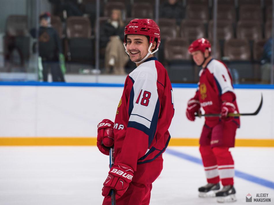 Хоккейный репортаж